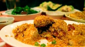 Garlic Chicken = heaven