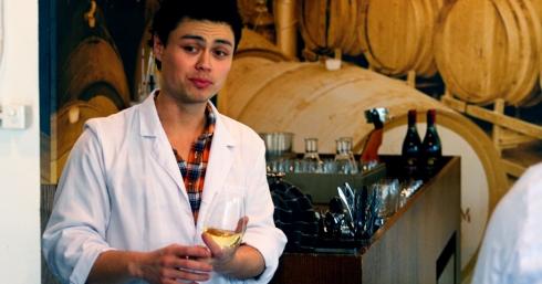 Eddie teaches Wine Skool