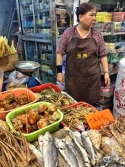 Hong Kong market fare