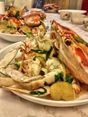 Stir fried crab