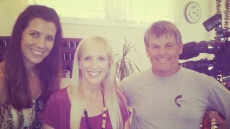 Amy Peel, Peny Wolff and Chris Deadman