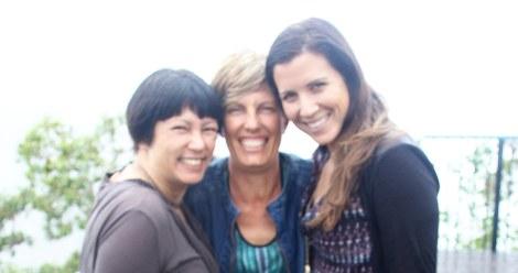 Jenny, Bridget and Amy at WallamanFalls