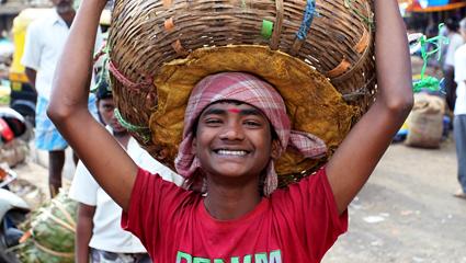 Market boy Bangalore