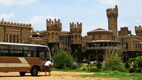 Filming at Bangalore Palace