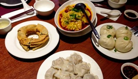 Dumplings at Dumpling King, Box Hill