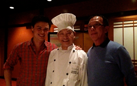 The master Anthony Liu at Flower Drum