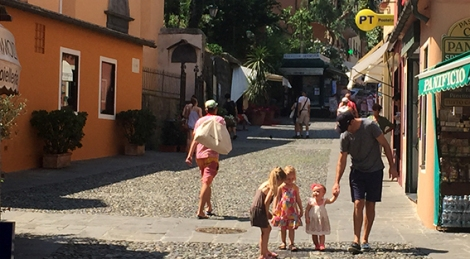 Travelling with a toddler in Italy